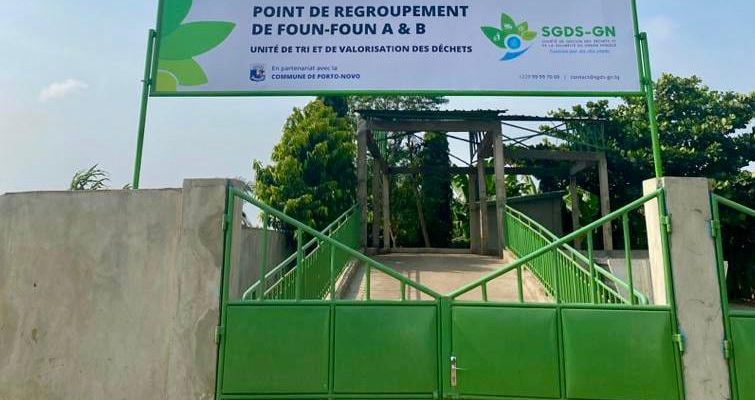 BENIN: Waste sorting and recovery units for Greater Nokoué ©SGDS