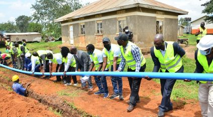 UGANDA: Water from the Aswa River to be pumped to serve 70 villages in Kyenjojo©Ugandan Ministry of Water and Environment