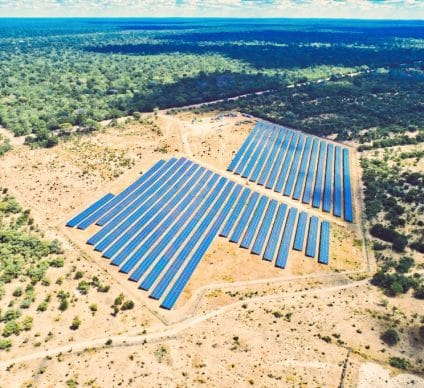 ZIMBABWE: Solgas Energy commissions its 5 MWp Cross Mabale solar power plant© Gamu