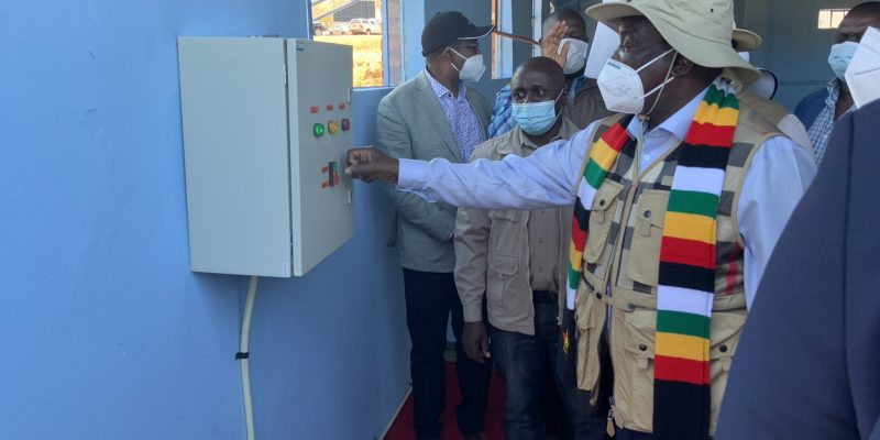 ZIMBABWE: A new drinking water plant for the people of Matabeleland North ©Zimbabwe National Water Authority