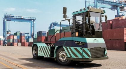 SIERRA LEONE: Bolloré equips the port of Freetown with two electric tractors© Bolloré Ports