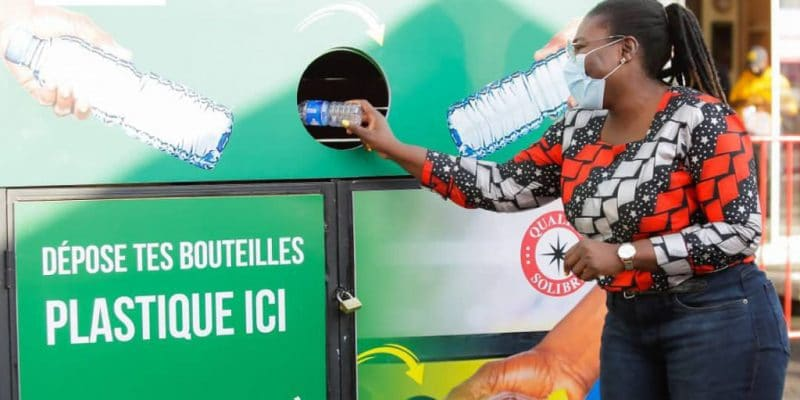 IVORY COAST: AIVP equips three Abidjan suburbs with plastic collection units©AIVP