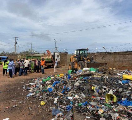 IVORY COAST: an operation to eliminate nearly 40 illegal dumps in Bondoukou©Municipality of Bondoukouu