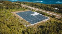SEYCHELLES: a new solar power plant supplies 90% of Desroches' electricity © State House Seychelles/Shutterstock
