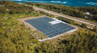 SEYCHELLES : une nouvelle centrale solaire fournit 90 % d'électricité de Desroches © State House Seychelles/Shutterstock