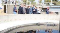 TUNISIA: the new Sabikha wastewater treatment plant serves 9,000 people©Onas